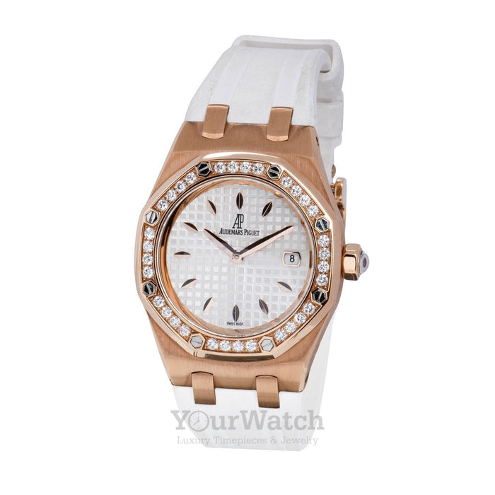 Royal Oak Diamond Rose Gold Ladies Watch