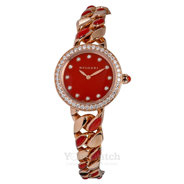 Bvlgari Catene 18 Carat Rose Gold Ladies Watch