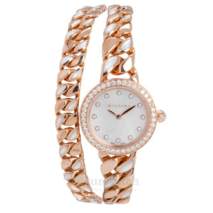 Bvlgari-Catene 18 Carat Rose Gold Ladies Watch-102171-$30200.00