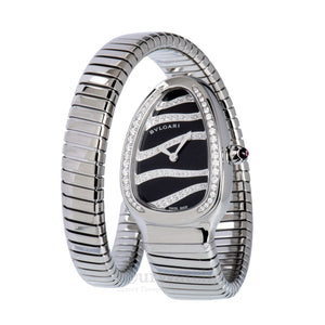 Bvlgari-Serpenti Tubogas Black Dial Ladies Watch-102440-$6490.00