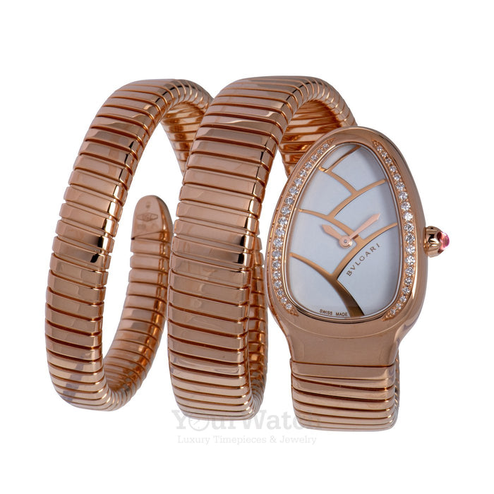 Bvlgari-Bvlgari Serpenti Tubogas Rose Gold 35mm Ladies Watch-102450-$21660.00