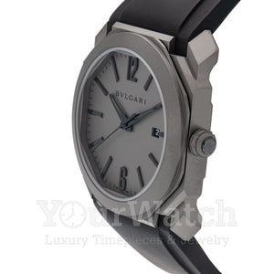 Bvlgari Octo Solotempo Automatic Grey Dial 41mm Men's Watch