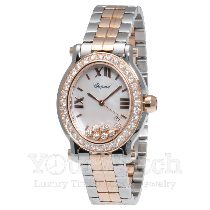 Chopard Happy Sport Floating Diamond Ladies Watch