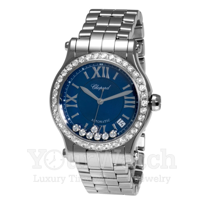 Chopard-Chopard Happy Sport Medium Automatic 36mm Ladies Watch-278559-3007-$11532.00