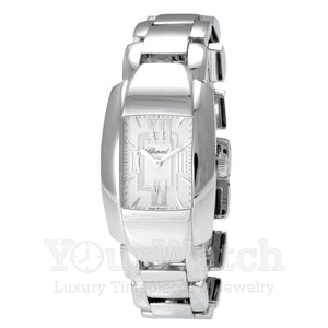 Chopard La Strada Square Quartz 18 Carat White Gold Ladies Watch 419254-1001