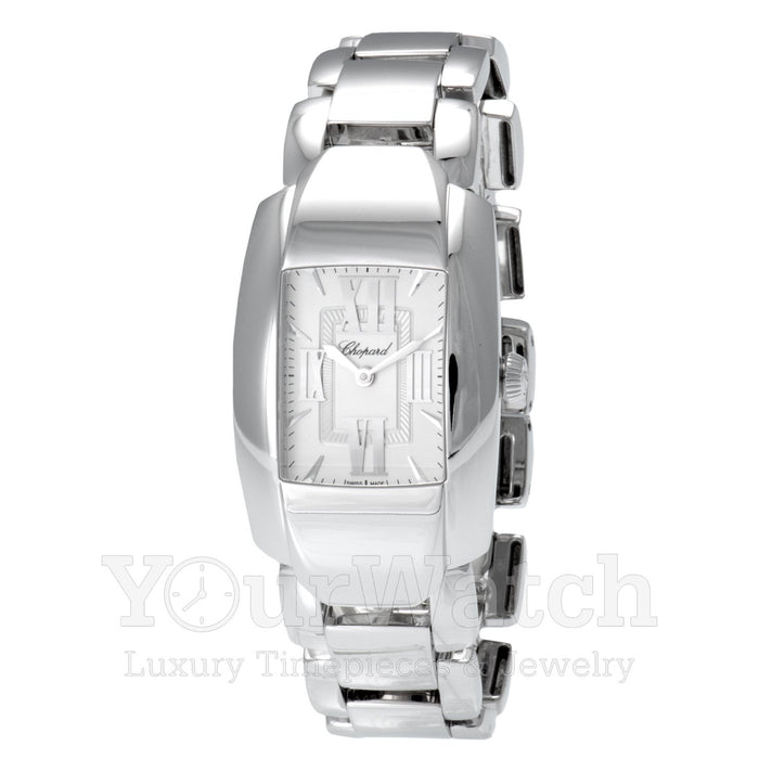 Chopard La Strada Square Quartz 18 Carat White Gold Ladies Watch