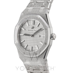 Royal Oak Chronograph 33mm Ladies Watch 67653BC.GG.1263BC.01