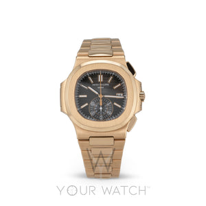Patek Philippe Nautilus Chronograph Rose Gold Watch 5980/1R