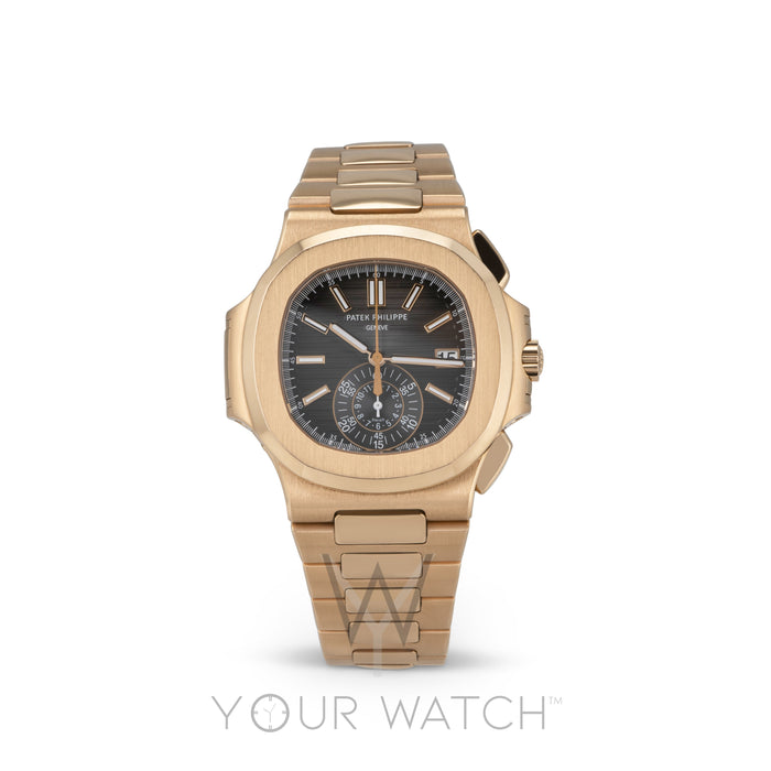 Patek Philippe Nautilus Chronograph Rose Gold Watch