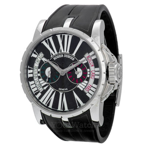 Roger Dubuis  Excalibur Triple Time Zone World Time Watch EX45-1448-9