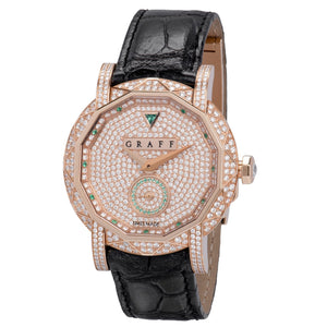 Graff Graffstar Quartz Ladies Watch GS38PGSLD