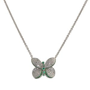 Graff-Butterfly-Diamond-and-Emerald-Pendant-RGP601