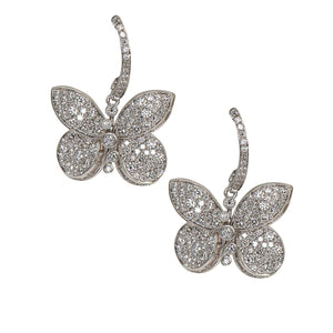 Graff Baby Princess Butterfly Earrings With Diamonds RGE1243