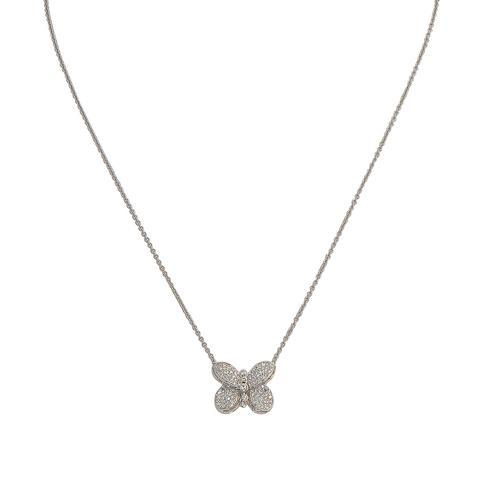 Graff-Baby Princess Butterfly Diamond Pendant-RGP600-$4410.00