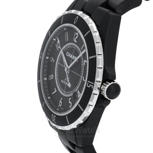 Chanel J12 Matte Black Ceramic Automatic Watch H3131