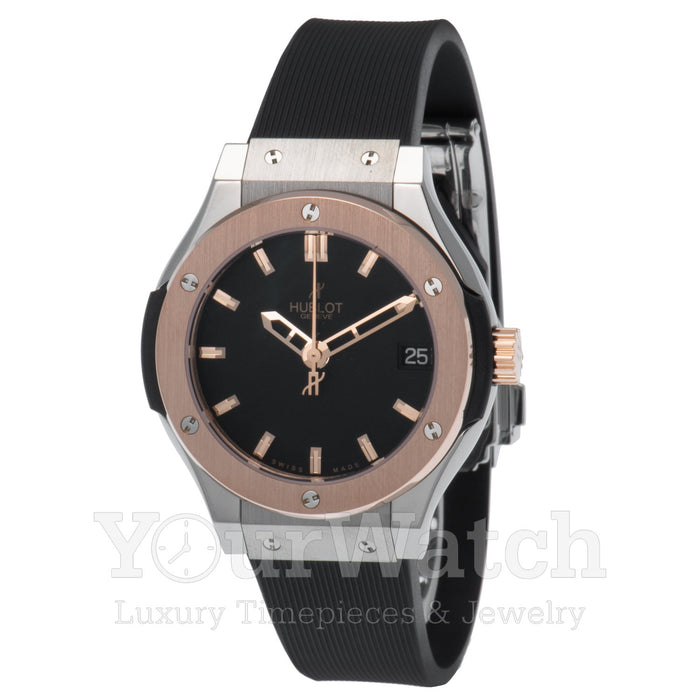Hublot Classic Fusion Quartz Titanium 33mm Ladies Watch