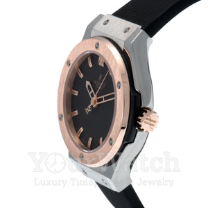 Hublot Classic Fusion Quartz Titanium 33mm Ladies Watch 581.NO.1180.RX