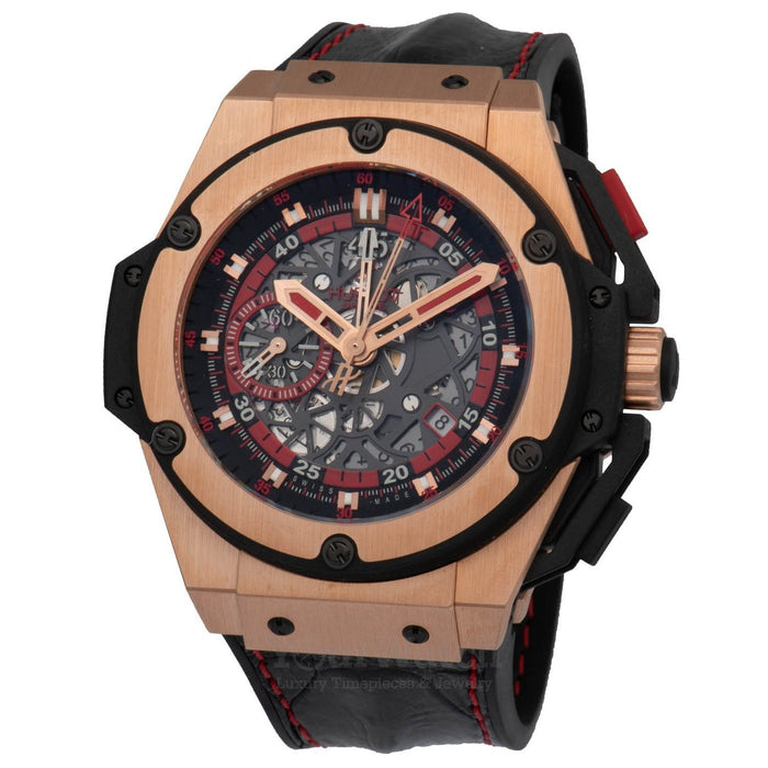 Hublot Big Bang King Power Chronograph Skeleton Dial 48mm Mens Watch