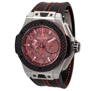 Hublot-Hublot Big Bang Unico Ferrari Chronograph 45mm Mens Watch-401.NQ.0123.VR-$15730.00