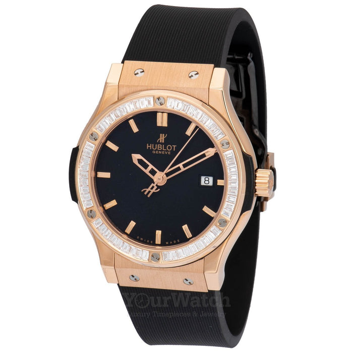 Classic Fusion 42mm Mens Watch with Baguette Diamonds
