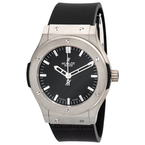 Hublot-Classic Fusion Automatic Black Dial 45mm Mens Watch-501.ZX.1170.RX-$5600.00