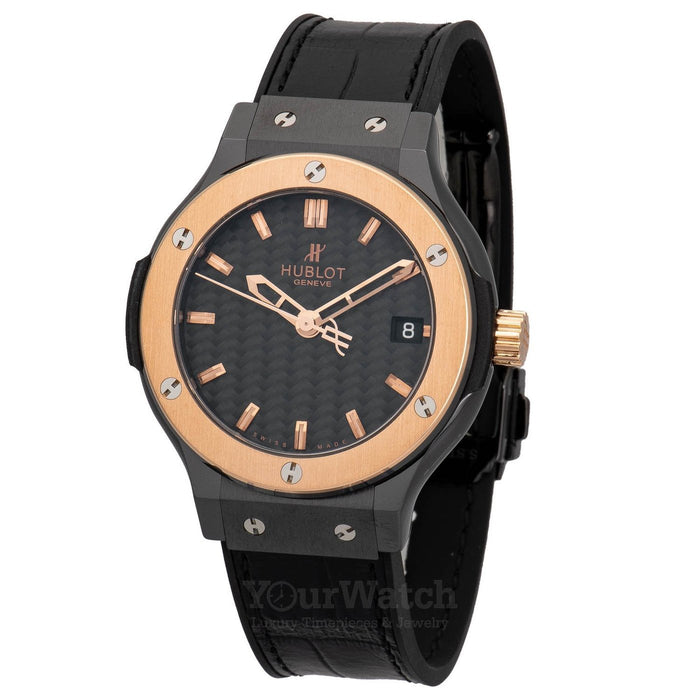 Hublot Classic Fusion Black Dial 38mm Watch