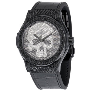 Hublot-Classic-Fusion-Black-Skull-Pave-45mm-Mens-Watch-511ND9011LR1700SKULL-Yourwatch