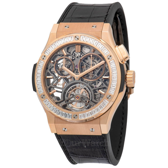 Hublot Classic Fusion Tourbillon Chronograph Mens Watch