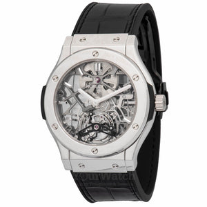 Hublot-Ultra-Thin-Skeleton-Tourbillon-Dial-Automatic-Mens-Watch-505TX0170LR-Yourwatch