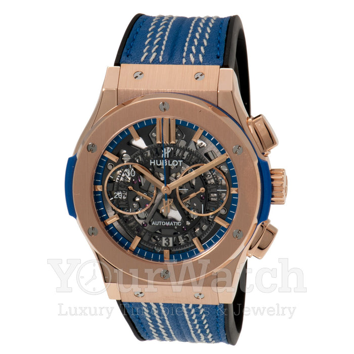 Hublot Classic Fusion Aerofusion 18K King Gold Chronograph 45mm Mens Watch -  Limited Edition