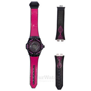 Big Bang Sang Bleu All Black Pink 39mm Watch 465CS1119VR1233MXM18