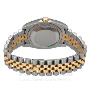 Rolex Datejust Two Tone Bracelet 36mm Ladies Watch