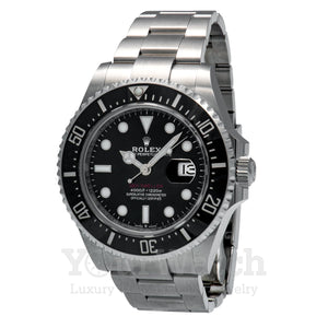 Rolex Sea Dweller Deep Sea Black Dial 44mm Mens Watch