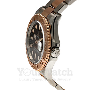 Rolex M116621-0001 Date Yacht Master Everose Gold Two Tone Bracelet 40mm Mens Watch