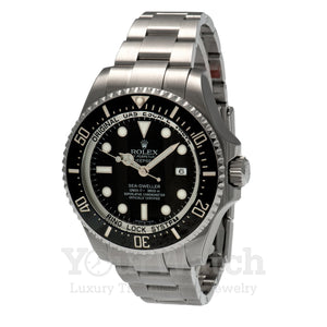 Rolex Sea Dweller Stainless Steel Black Dial 43mm Mens Watch