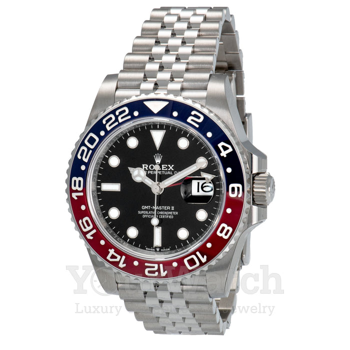 Rolex GMT Master II Pepsi Luxury 40mm Mens Watch