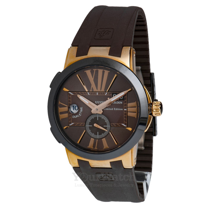 Ulysse Nardin Executive Dual Time 43mm Mens Watch