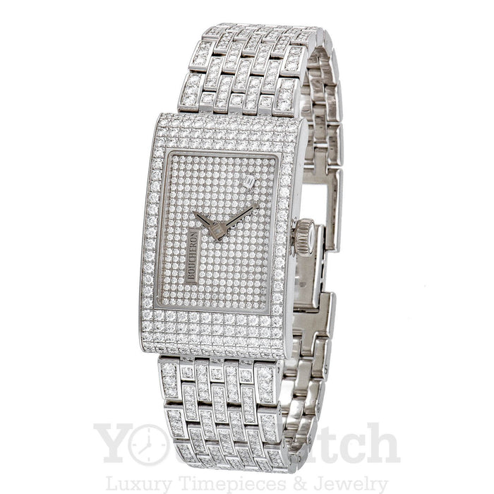 Reflet Ladies Quartz White Gold Watch