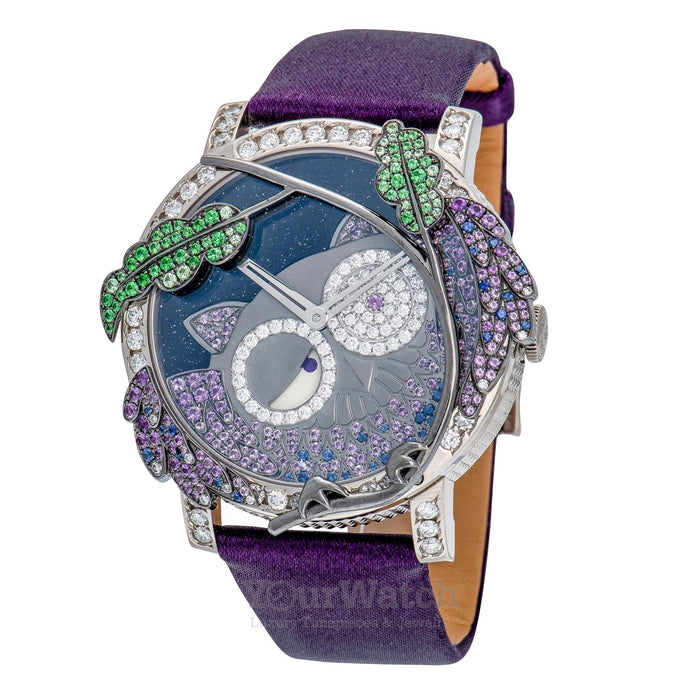 Boucheron Crazy Jungle Owl Watch