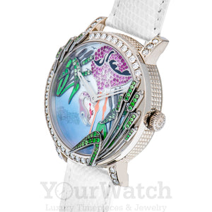 Boucheron Crazy Jungle Flamingo Watch