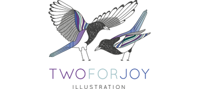 Two For Joy Illustration