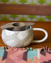 kibi ceramic tea strainer and mug