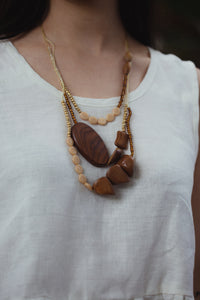 Old Wood Loretta Necklace - Elliott St.