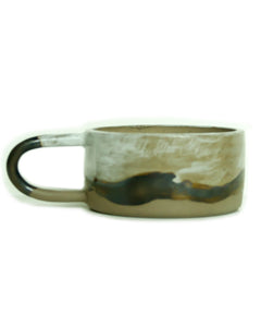 Kibi Ceramic Mug | Mountain | Round Handle - Elliott St.