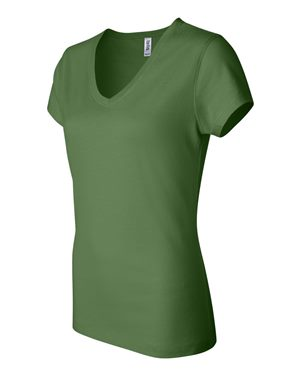 Ladies' Jersey V-Neck T-Shirt