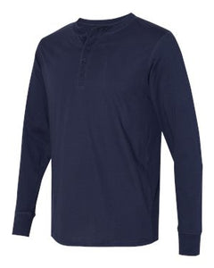 Men's Jersey Long-Sleeve Henley