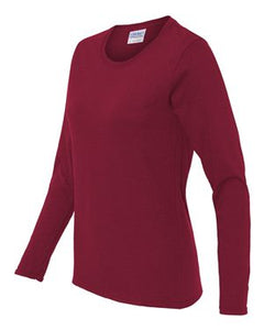 Ladies' Heavy Cotton™ Long-Sleeve T-Shirt