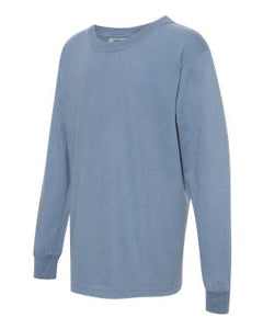 Youth Garment-Dyed Long-Sleeve T-Shirt