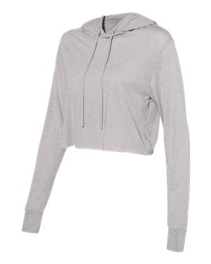 Ladies' Cropped Hooded Sweatshirt