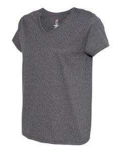 Ladies' Tagless® V-Neck T-Shirt